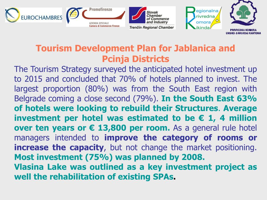 Tourism Development Plan for Jablanica and