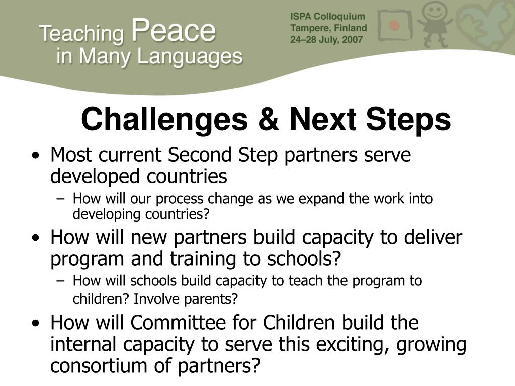 Challenges & Next Steps