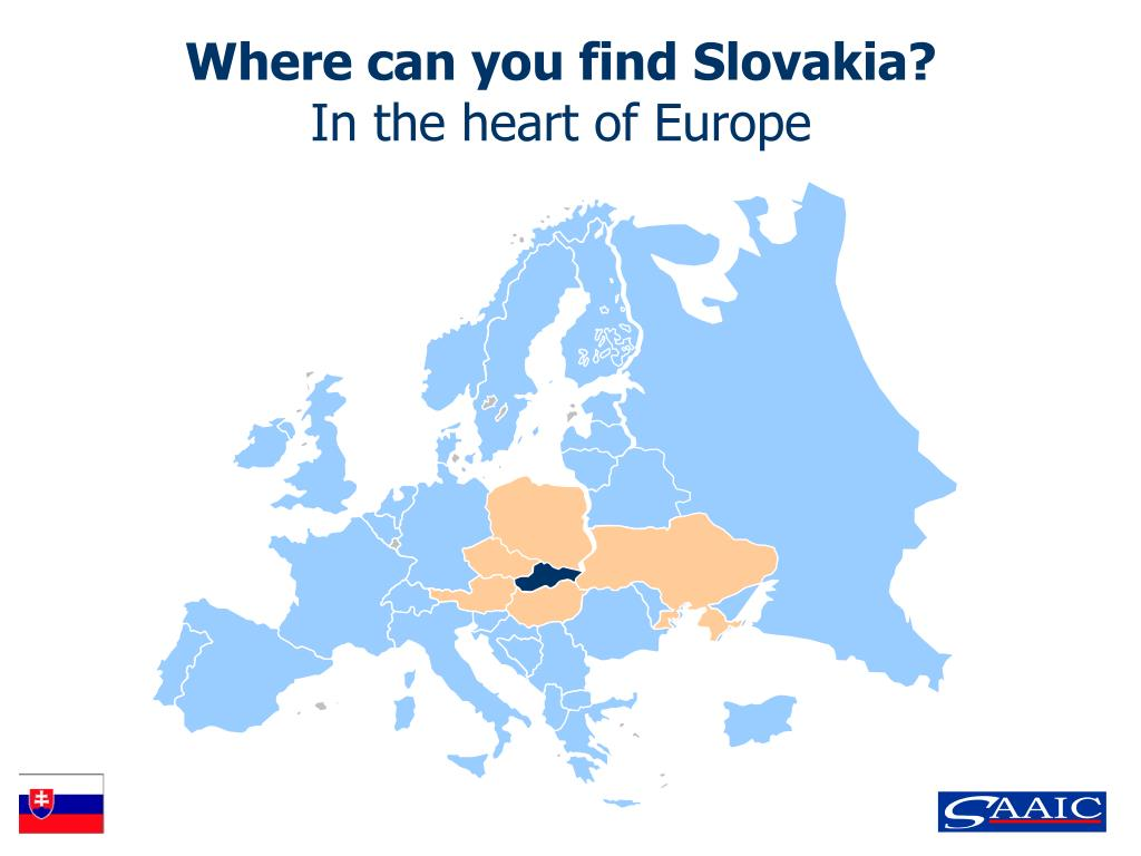 Where can you find Slovakia?