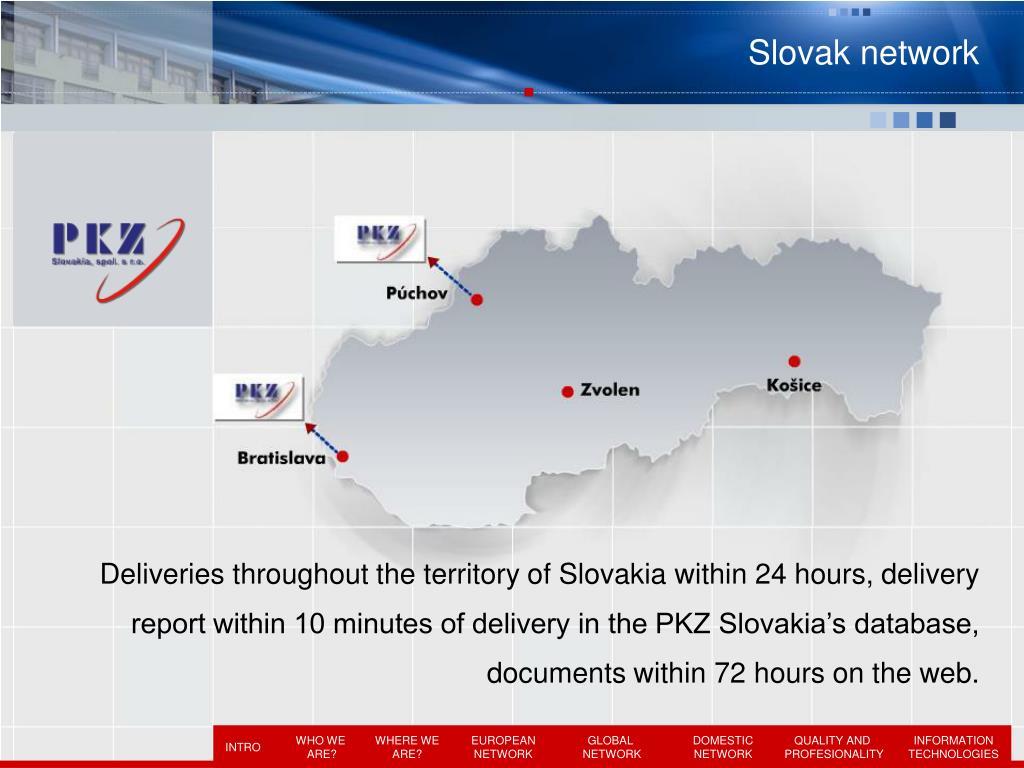 Slovak network