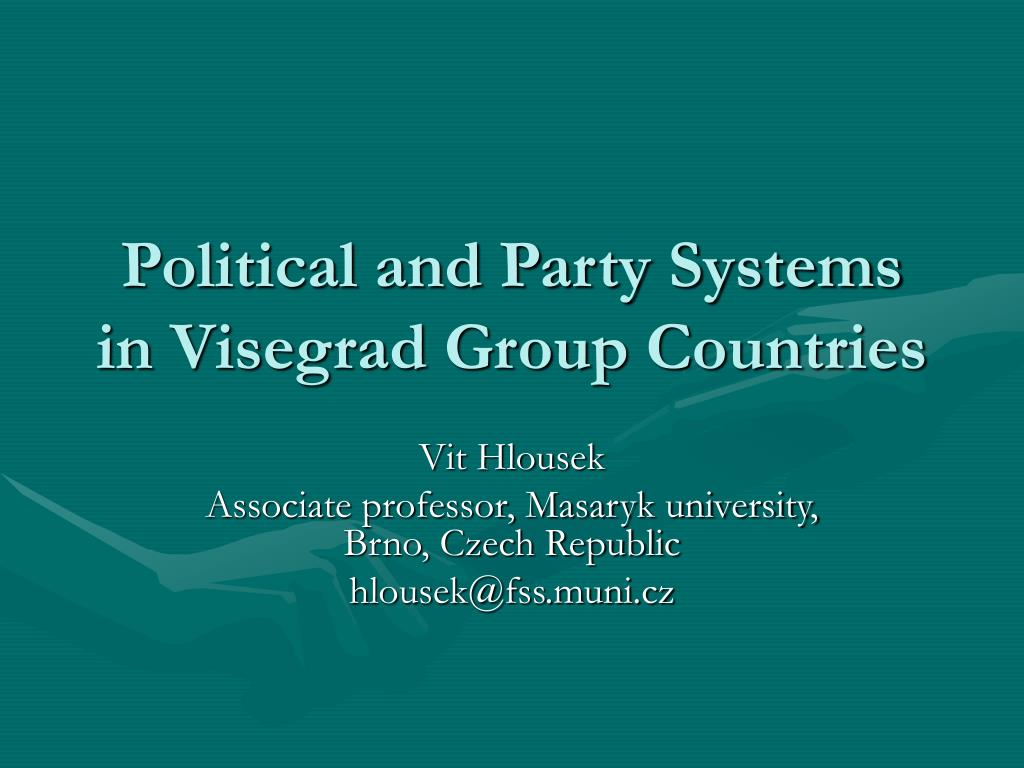Political and Party Systems in Visegrad Group Countries