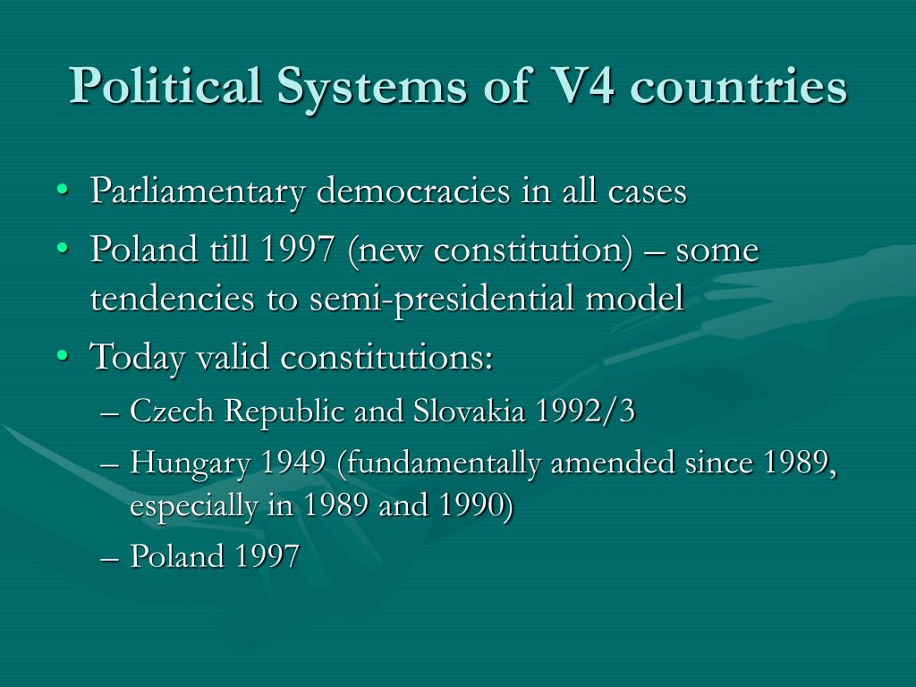 Political Systems of V4 countries