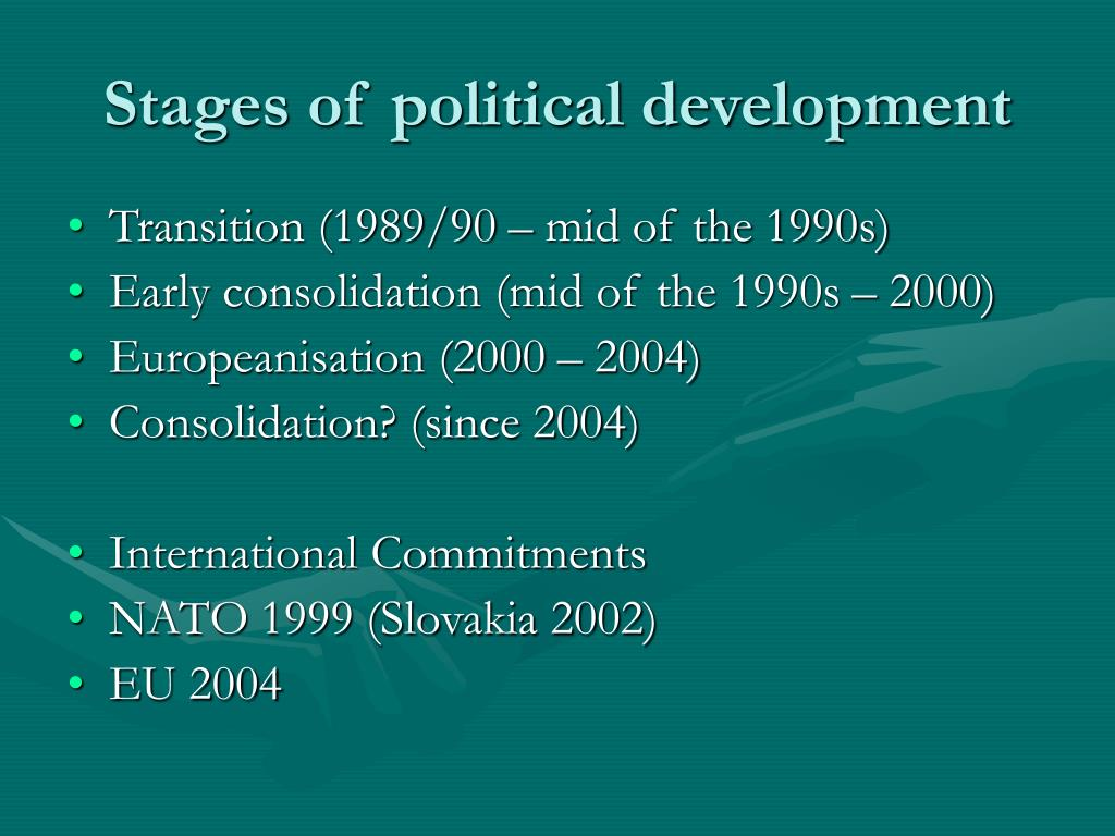 Stages of political development