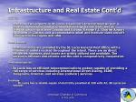 infrastructure and real estate cont d