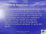 taxation incentives