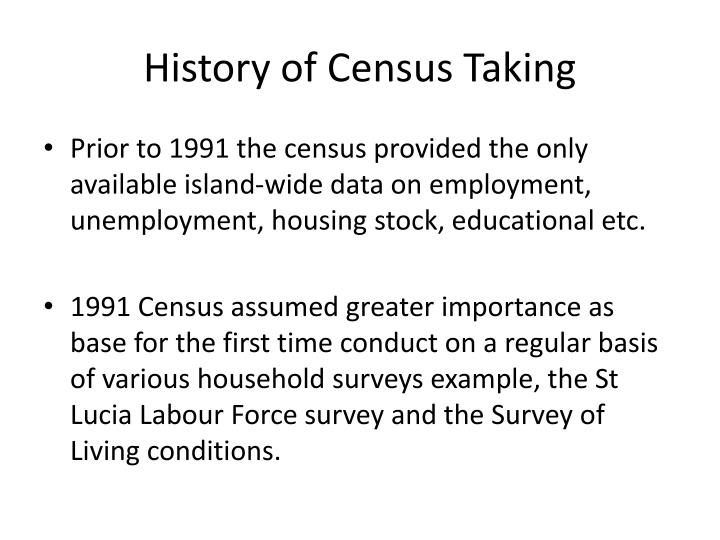History of census taking3