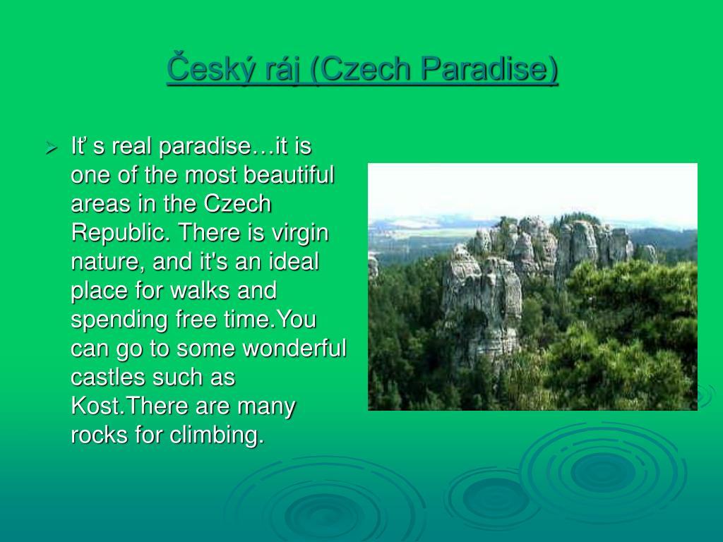Český ráj (Czech Paradise)