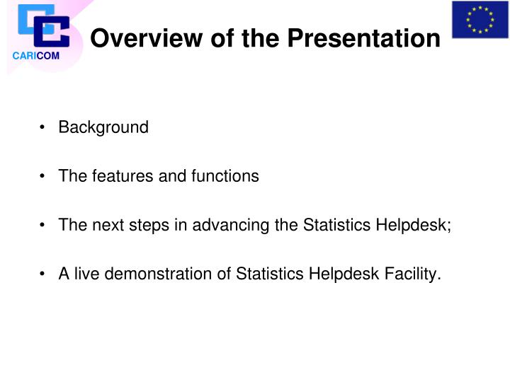 Overview of the presentation l.jpg