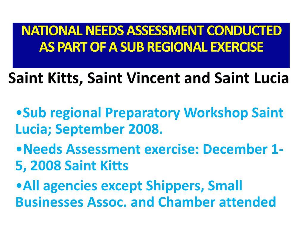Saint Kitts, Saint Vincent and Saint Lucia