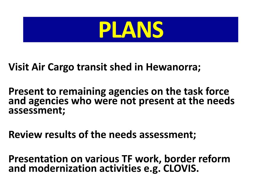 Visit Air Cargo transit shed in Hewanorra;