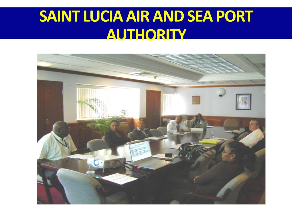 SAINT LUCIA AIR AND SEA PORT AUTHORITY