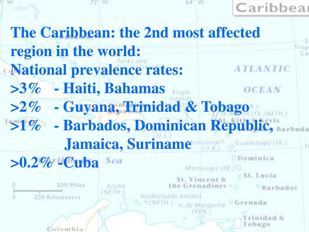 The Caribbean: the 2nd most affected region in the world: