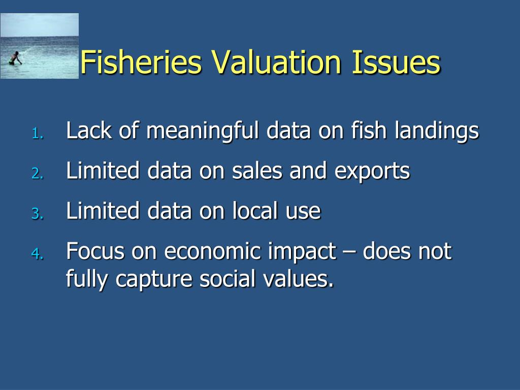 Fisheries Valuation Issues