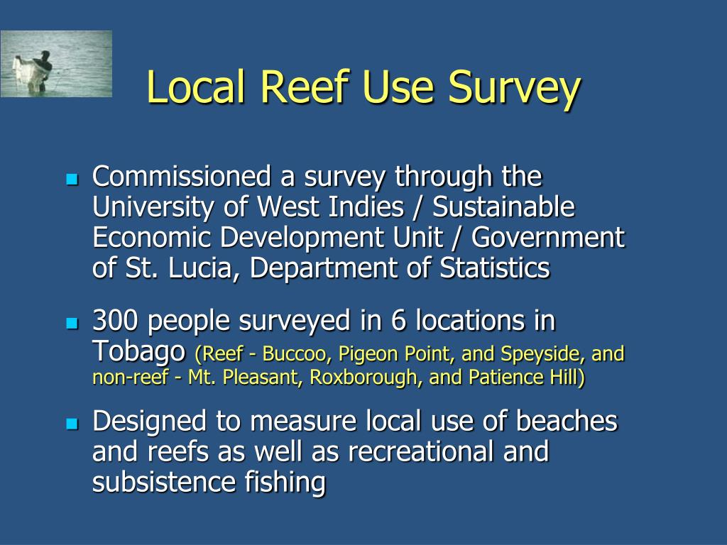 Local Reef Use Survey