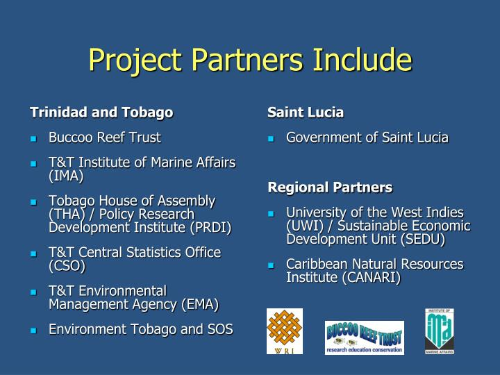 Project partners include