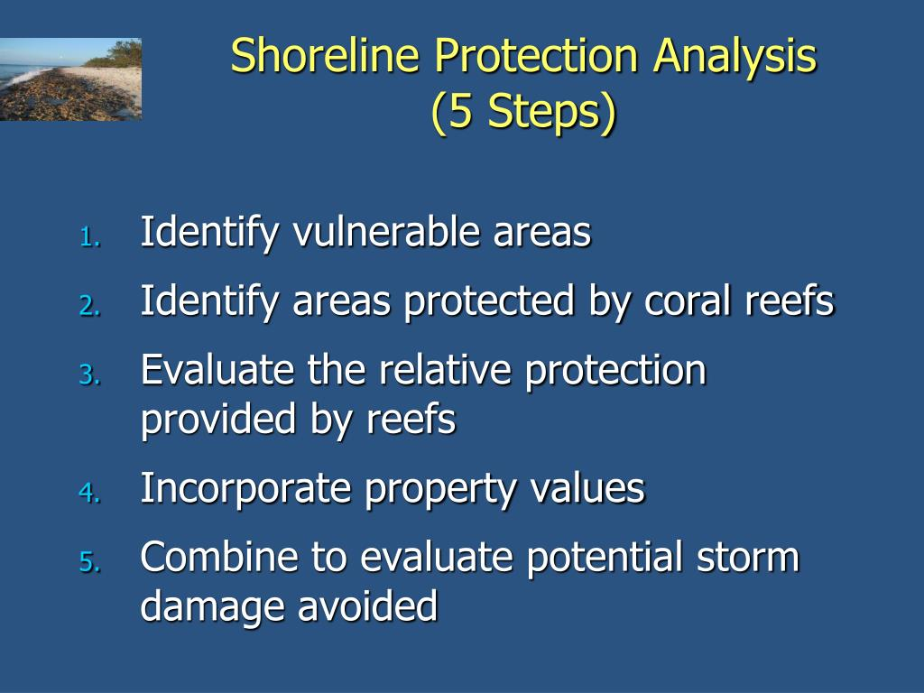 Shoreline Protection Analysis