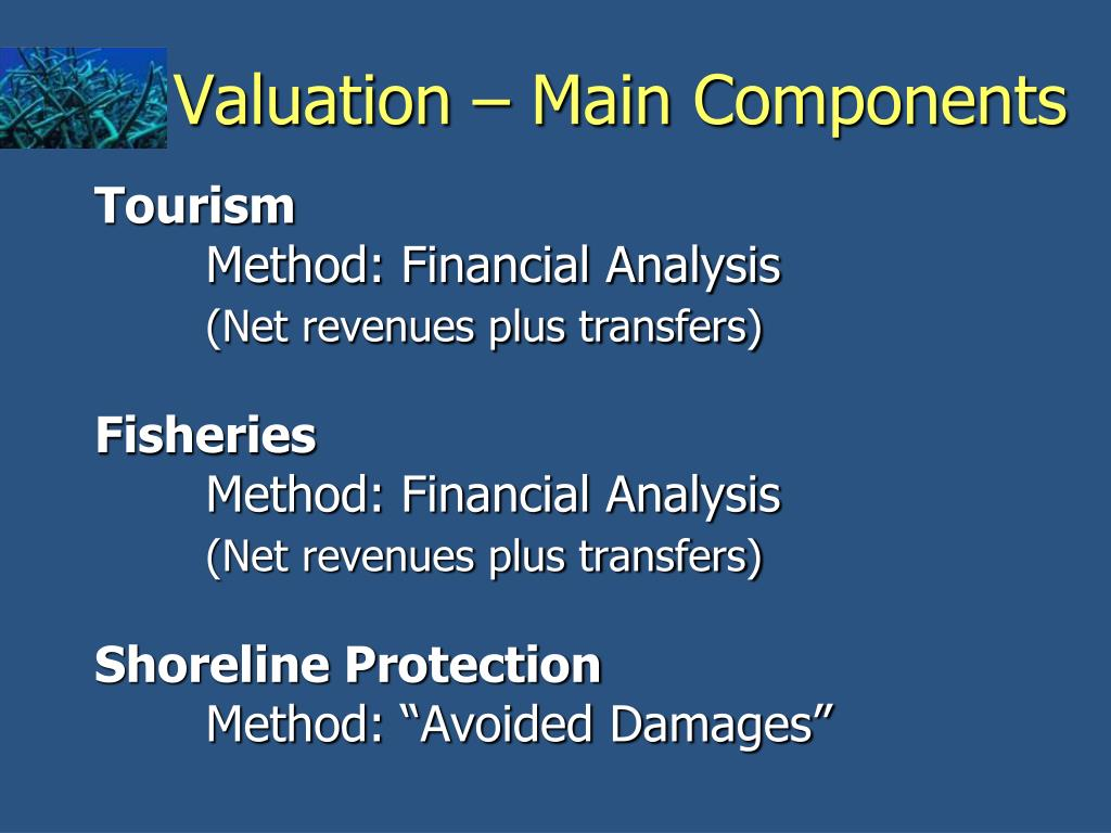 Valuation – Main Components