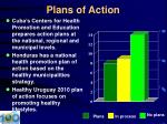 plans of action