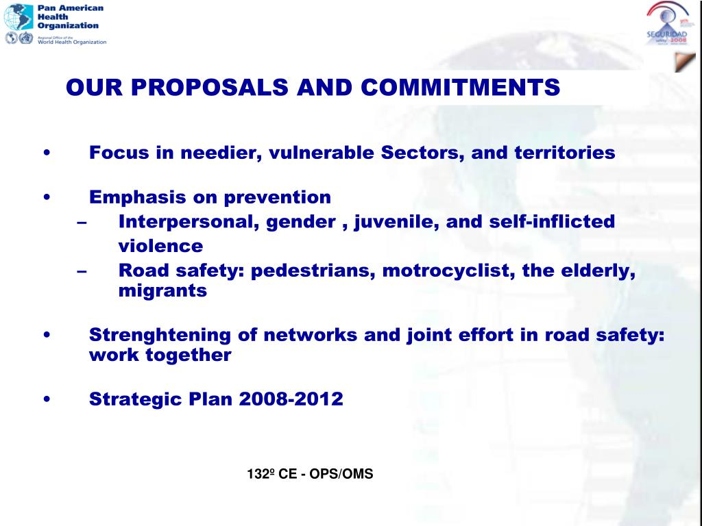 Focus in needier, vulnerable Sectors, and territories