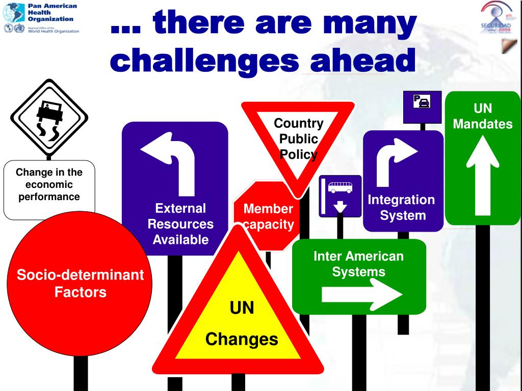 … there are many challenges ahead