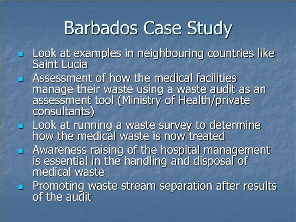 Barbados Case Study