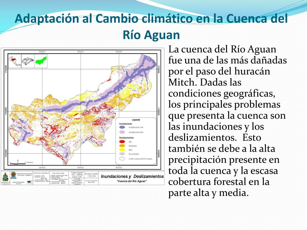 Adaptación al Cambio climático en la Cuenca del Río Aguan