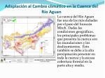 adaptaci n al cambio clim tico en la cuenca del r o aguan