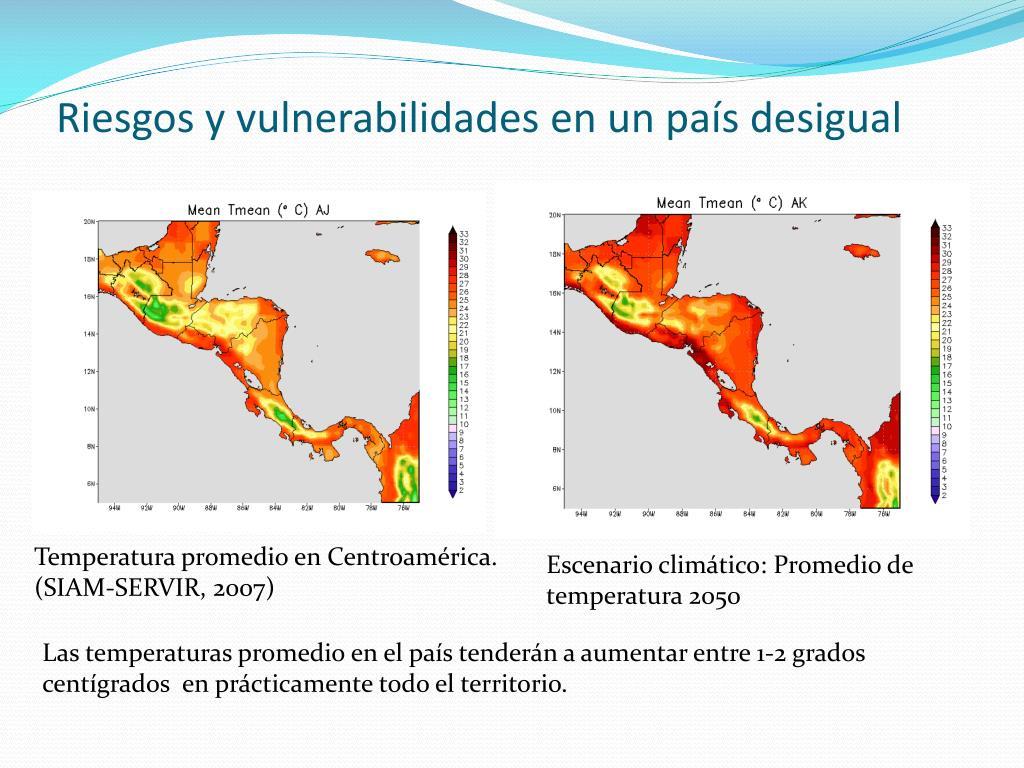 Riesgos y vulnerabilidades en un país desigual