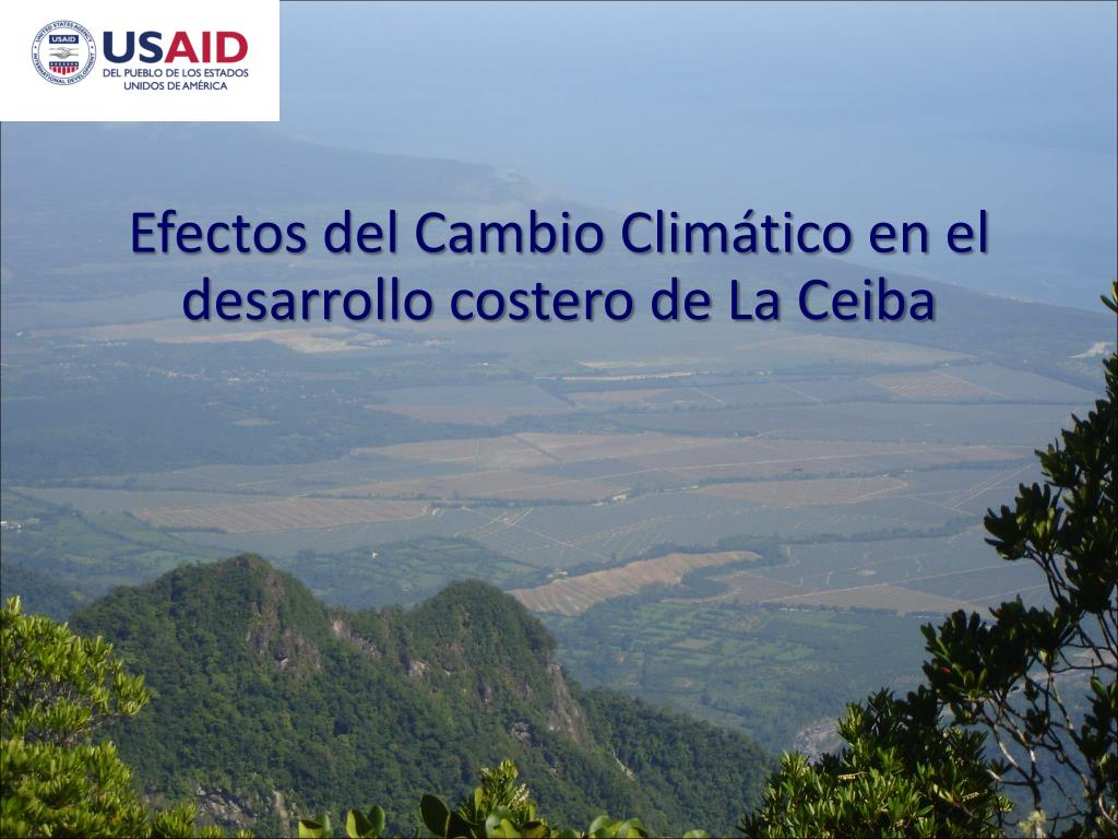 Efectos del Cambio Climático en