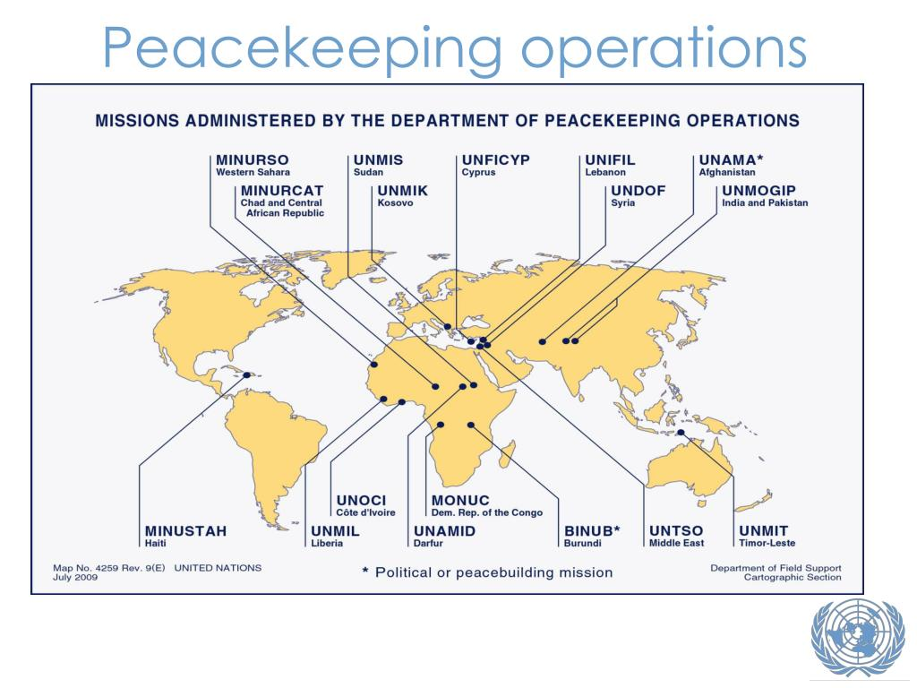 Peacekeeping operations