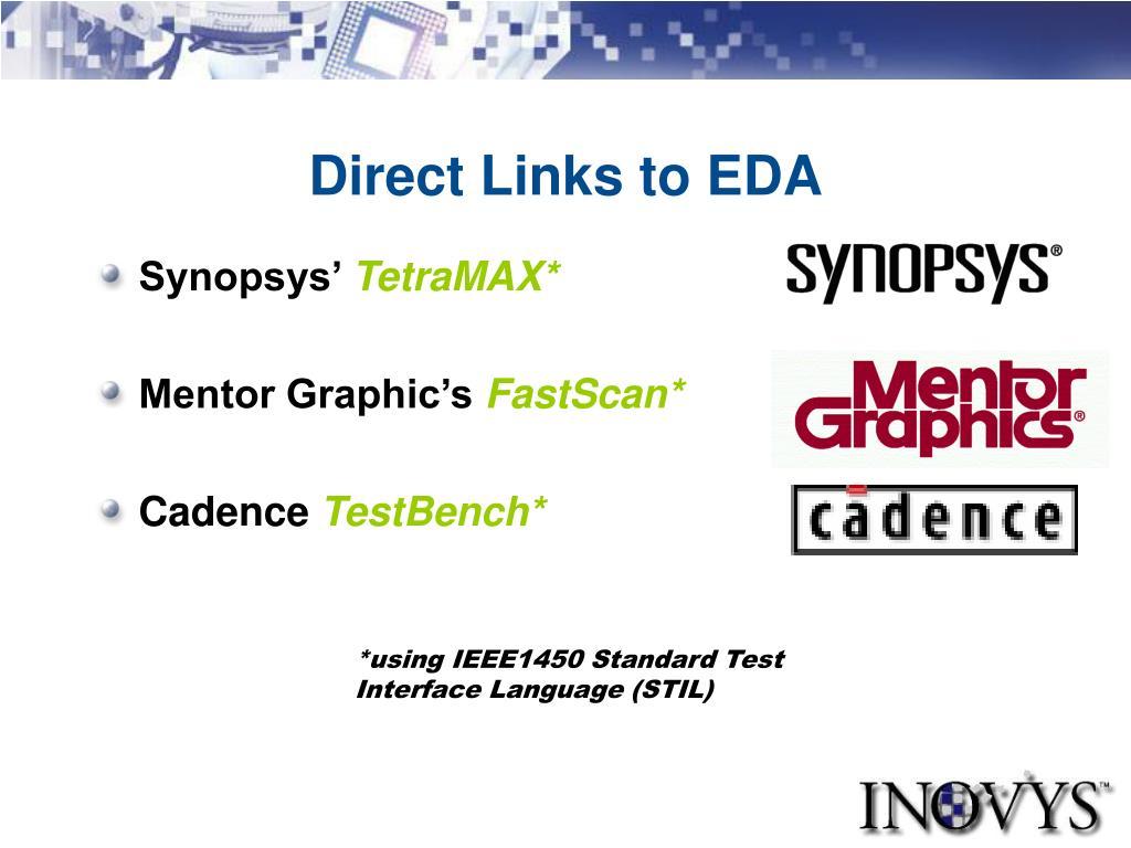 Direct Links to EDA