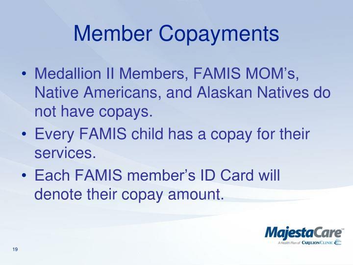 Member Copayments