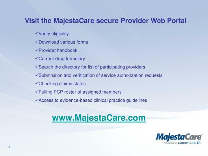www.MajestaCare.com
