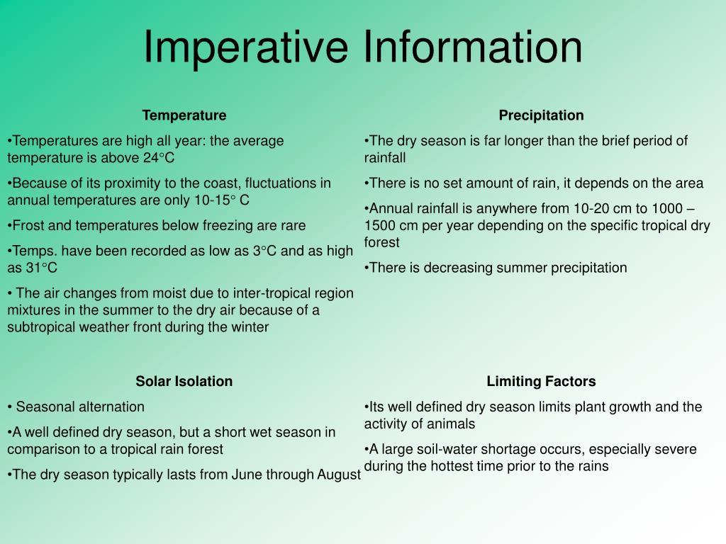 Imperative Information