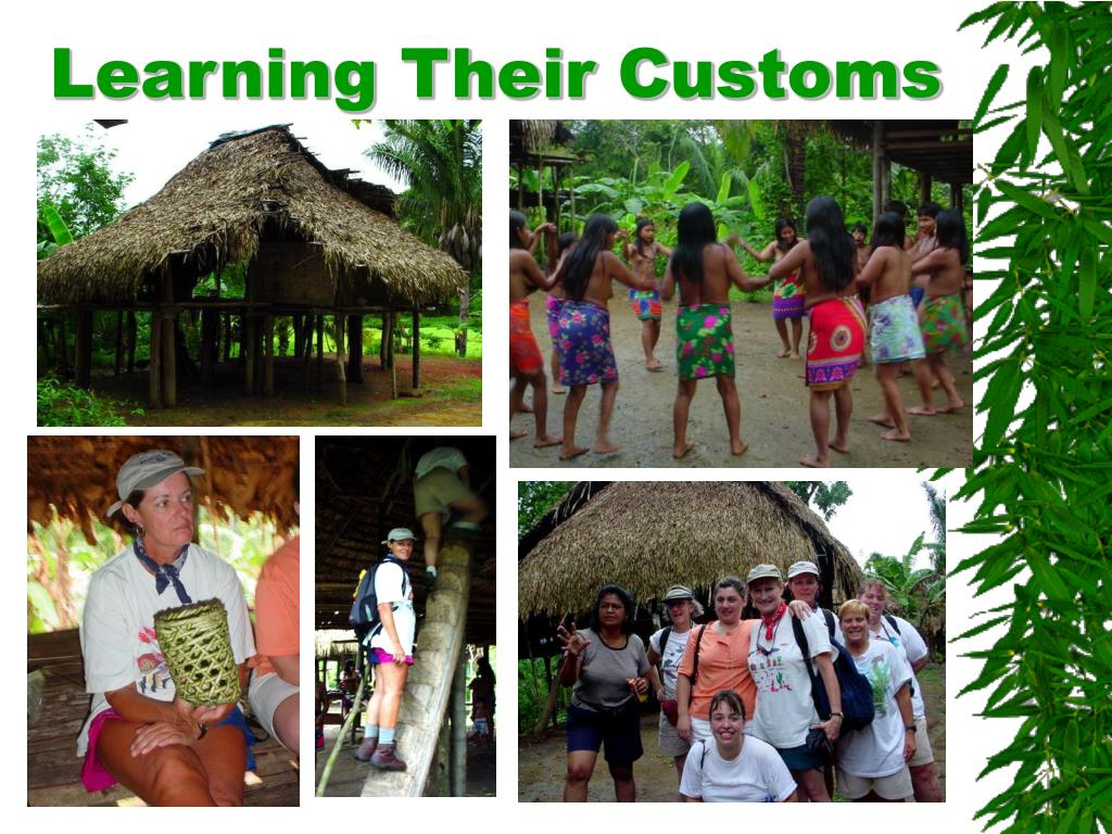 Learning Their Customs