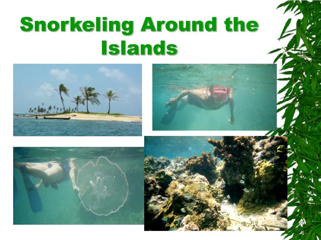 Snorkeling Around the Islands