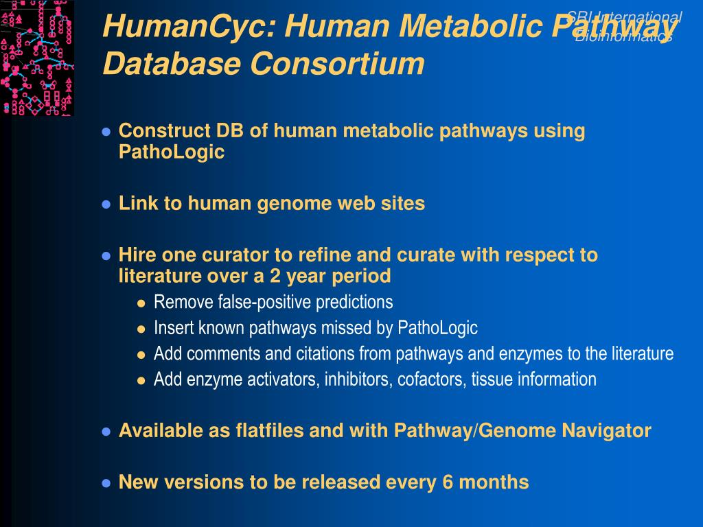 HumanCyc: Human Metabolic Pathway