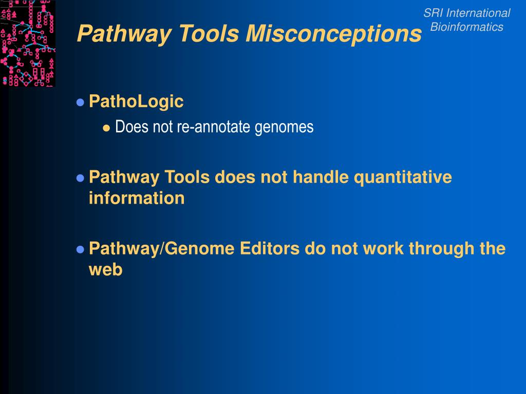 Pathway Tools Misconceptions