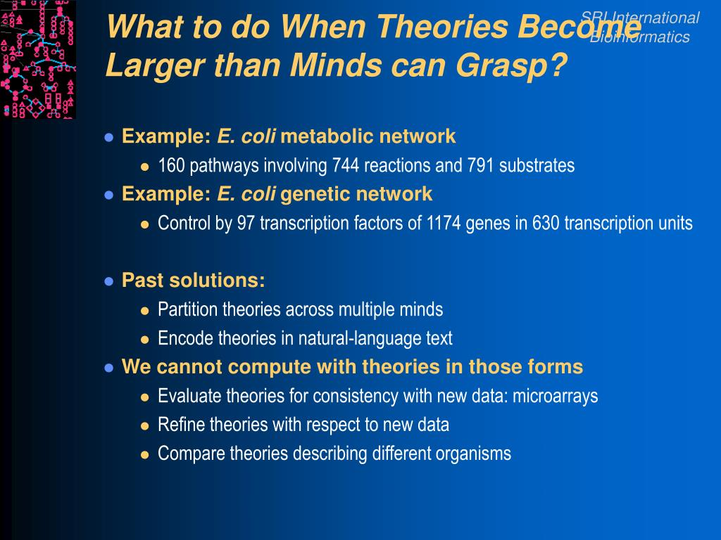 What to do When Theories Become