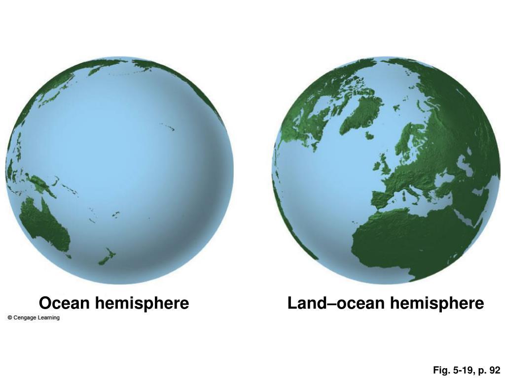 Ocean hemisphere