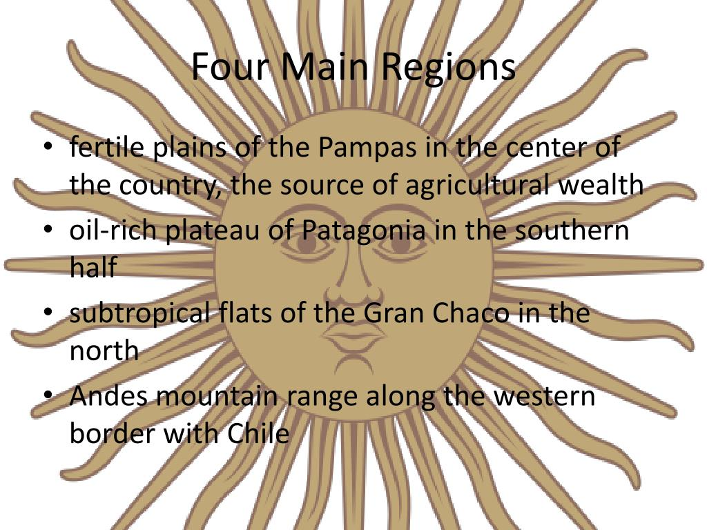 Four Main Regions