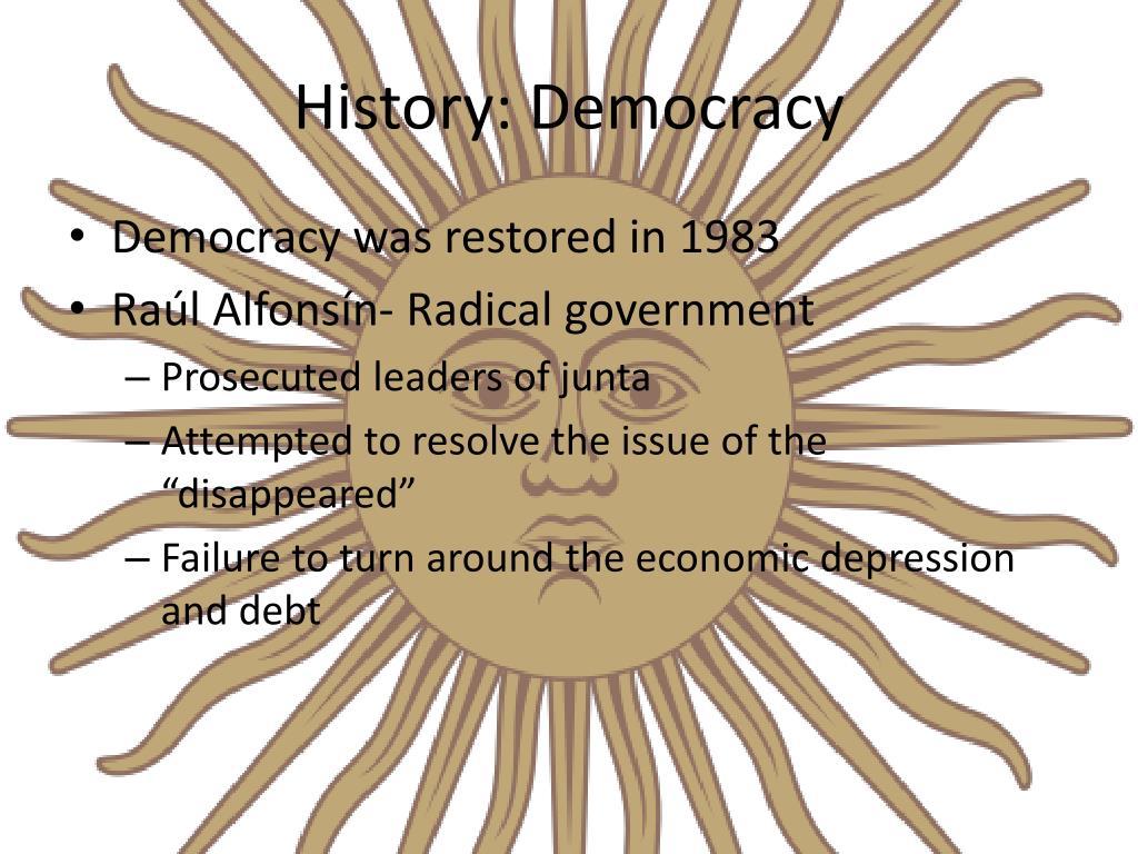 History: Democracy