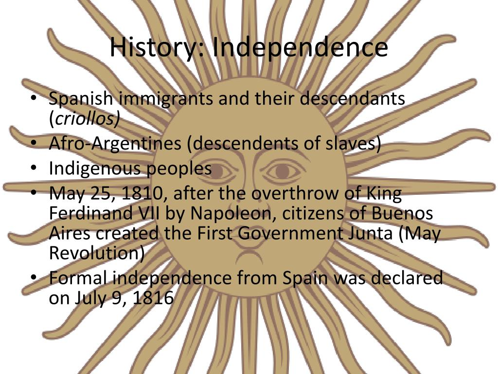 History: Independence