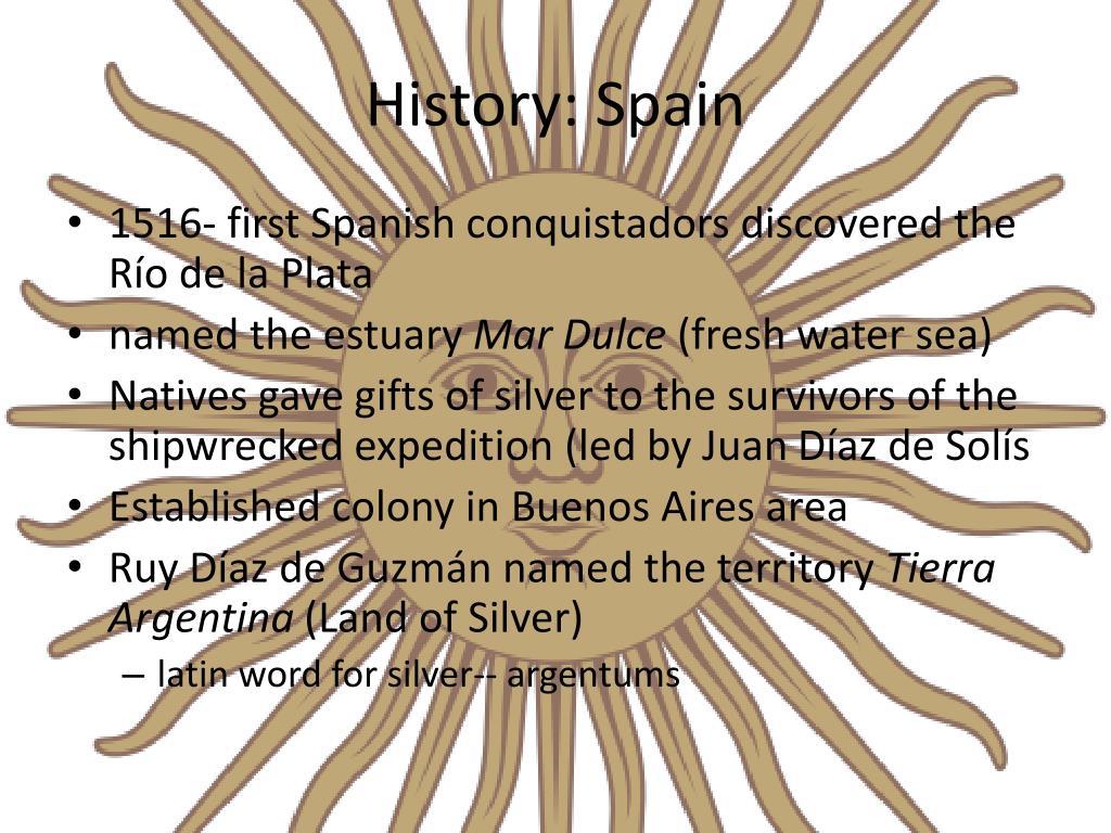 History: Spain