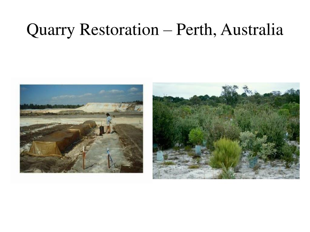 Quarry Restoration – Perth, Australia