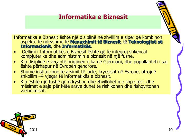 Informatika e Biznesit