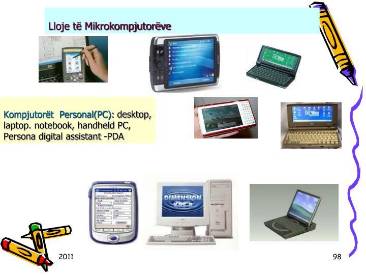 Kompjutort  Personal(PC):