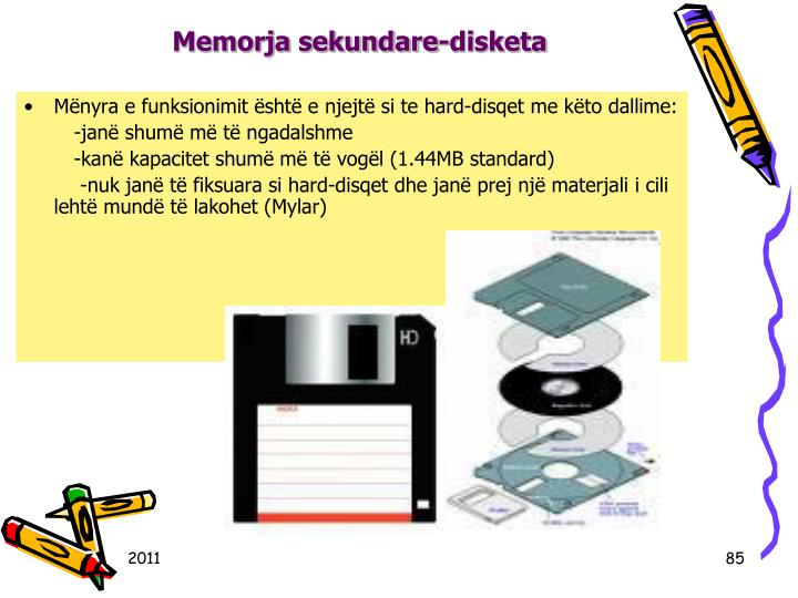 Memorja sekundare-disketa