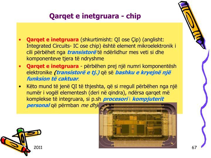 Qarqet e inetgruara - chip