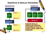 sequential parallel processing